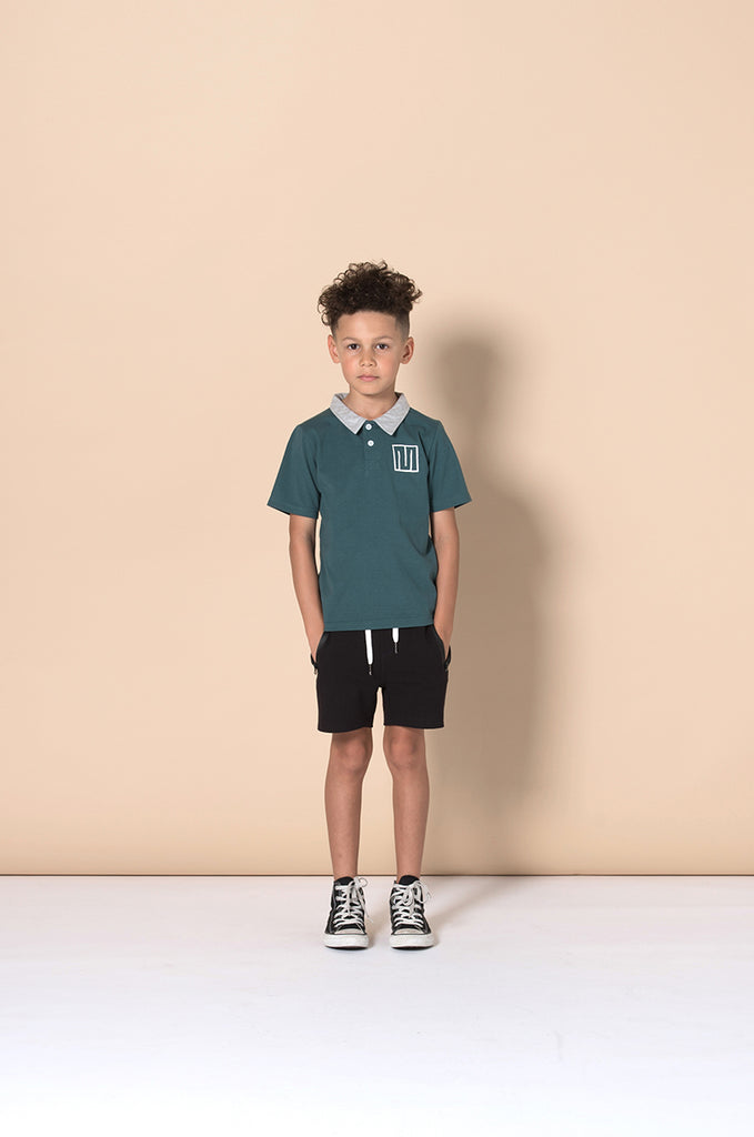 Minti Zippy Short - Black