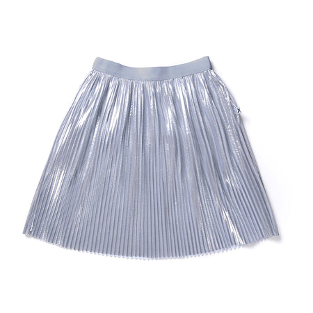 Minti Luxe Skirt - Silver