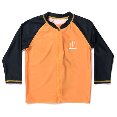 Minti Stealth Lion LS Rashie - Orange/Black
