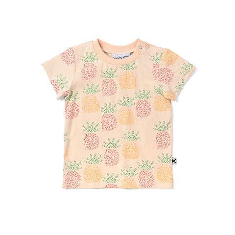 Minti Pineapples Tee - Cream