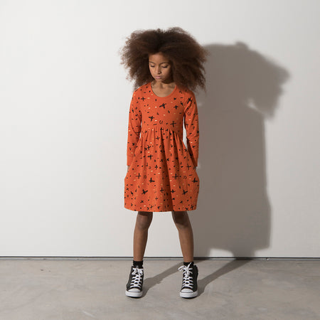Minti Crosses And Scribbles Dress