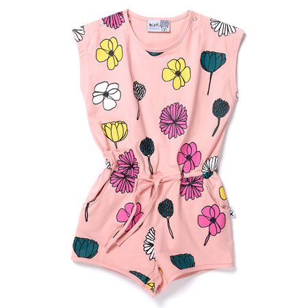 Minti Daisies And Other Things Playsuit - Ballet