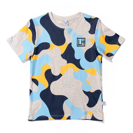 Littlehorn Camo Tee - Light Grey