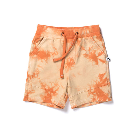 Minti Marble Short - Orange Tie Dye