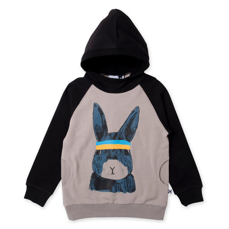 Minti Sports Bunny Pocket Hood