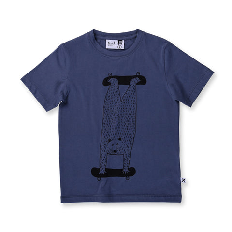 Minti Double Skate Tee - Midnight