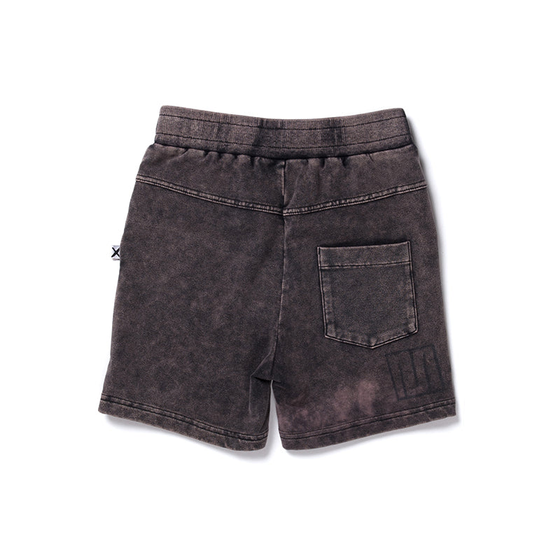Minti Clash Short - Black Wash