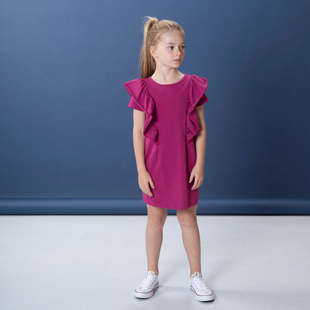 Littlehorn Coco Dress - Crimson