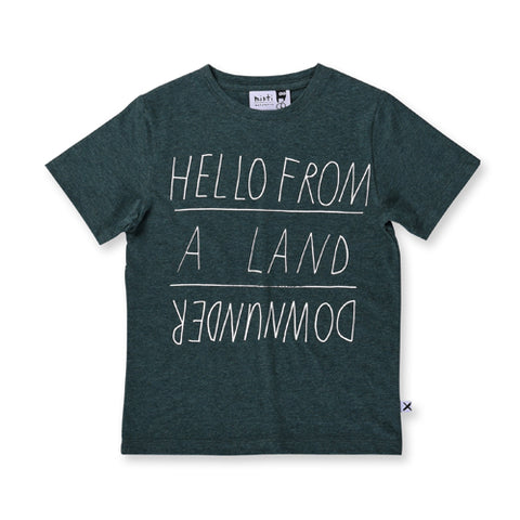 Minti Land Downunder Tee - Forest Marle