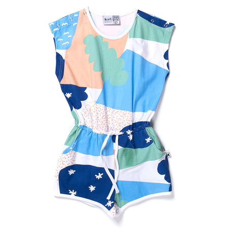 Minti Cosmic Playsuit - Multi