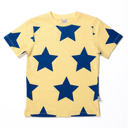 Littlehorn Stars Tee - Yellow