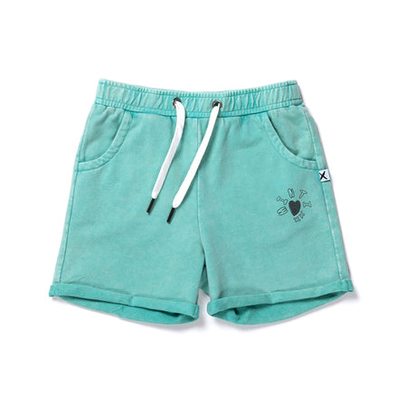 Minti Play Short - Mint Wash