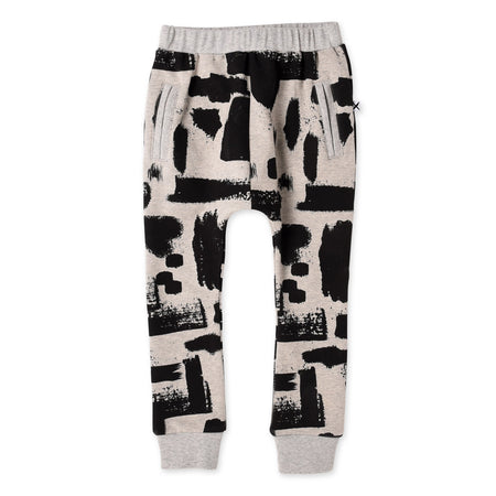 Minti Splatter Furry Bronx Trackies