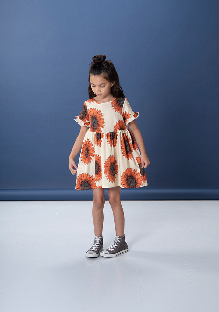 Littlehorn Sunflowers Dress - Sand