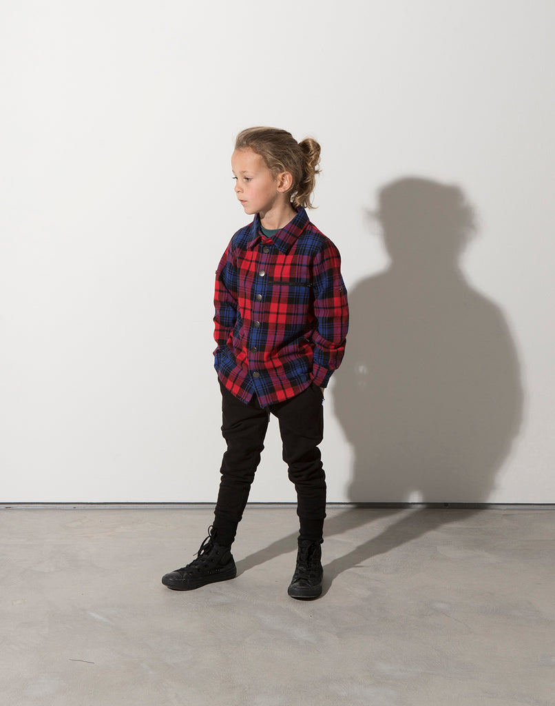 Minti Snappy Flannel Shirt