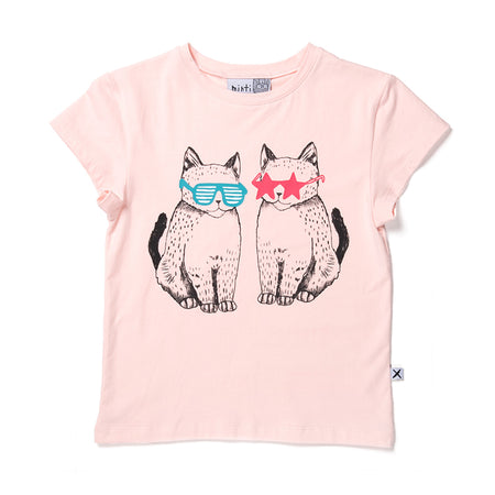 Minti Cool Cats Tee - Ballet