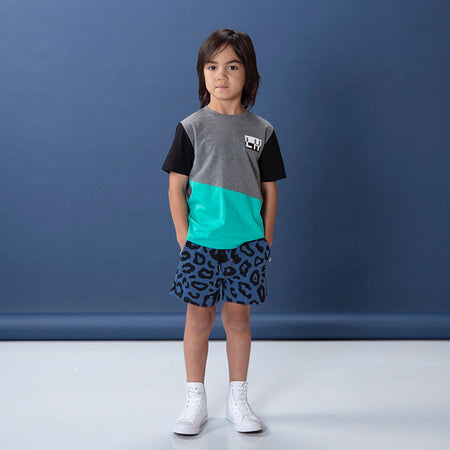 Littlehorn Safari Sweat Short - Navy