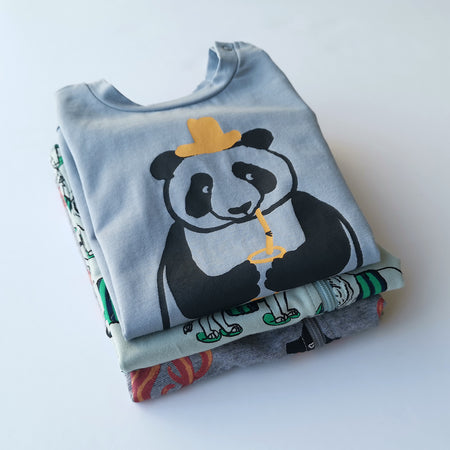 Minti Holiday Panda Suit