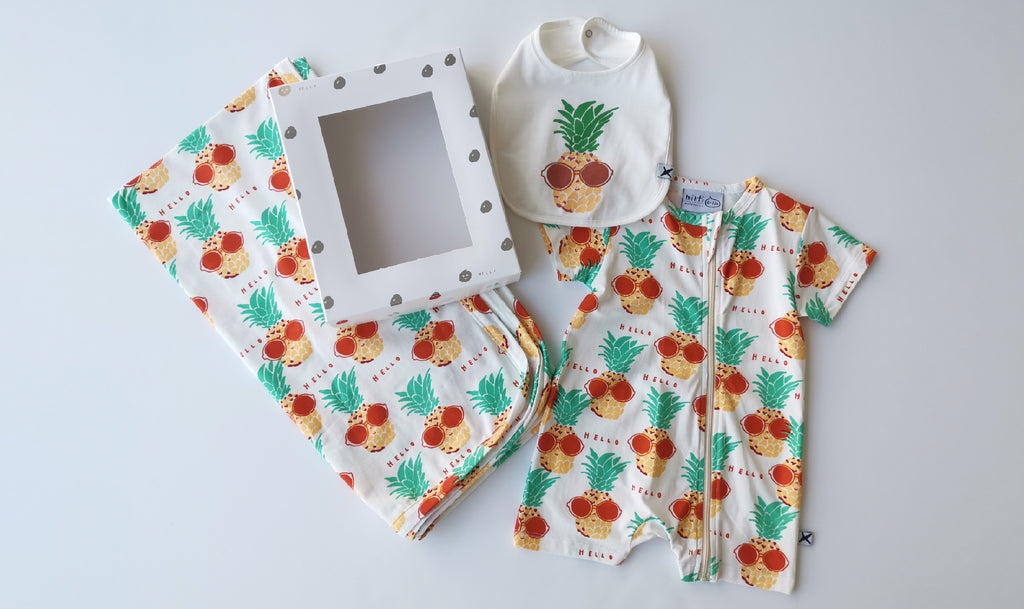Minti Sunny Pineapples Gift Pack