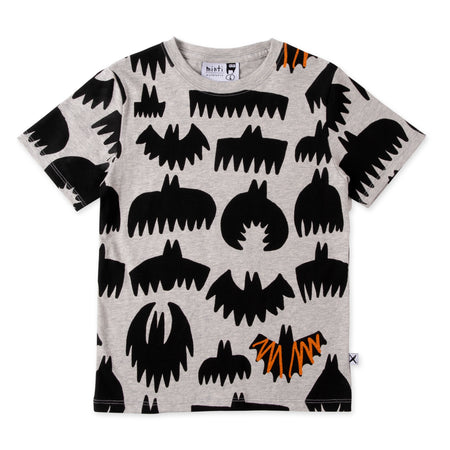 Minti Bat Pattern Tee