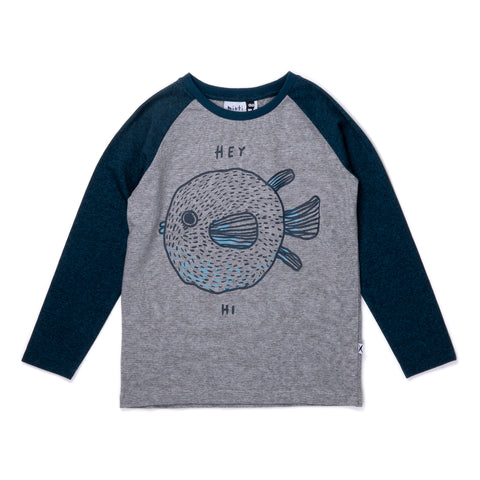 Minti Friendly Pufferfish Tee