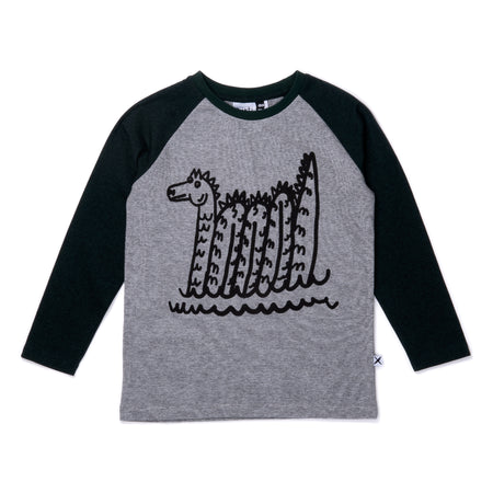 Minti Sea Monster Raglan Tee