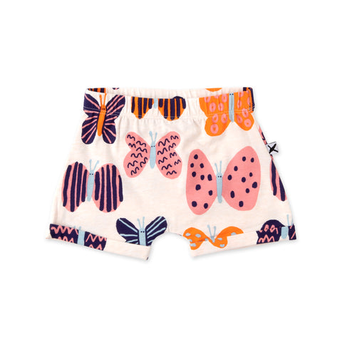 Minti Colourful Butterflies Short