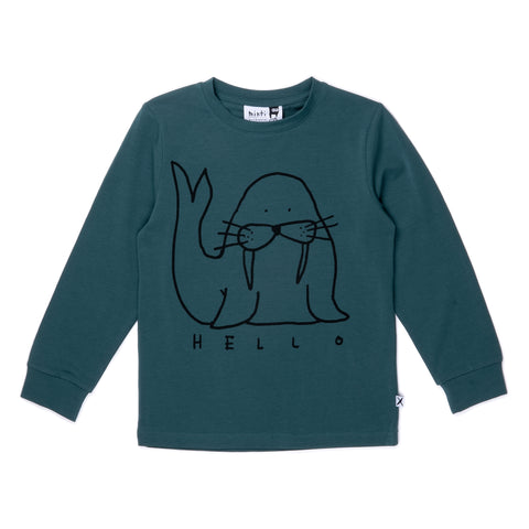 Minti Happy Walrus Tee