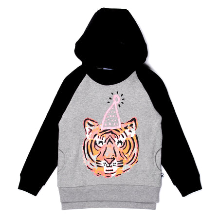 Minti Party Tiger Furry Hood