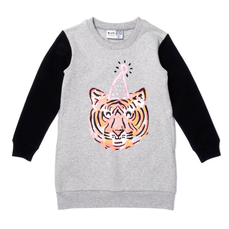Minti Party Tiger Furry Wing Dress