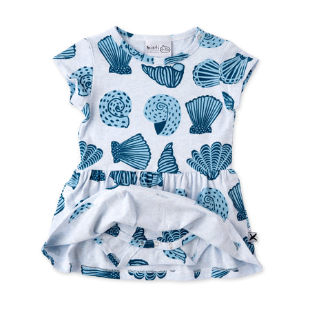 Minti Seashells Onesie Dress
