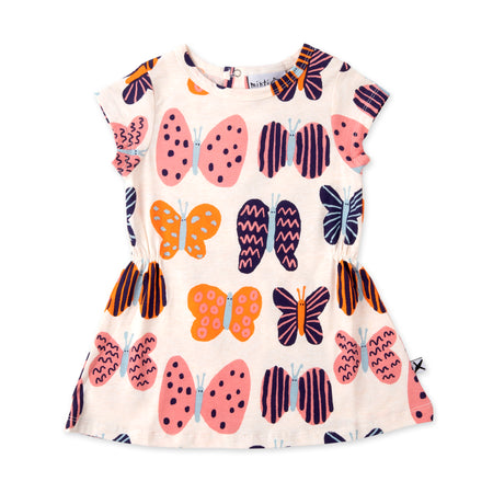 Minti Colourful Butterflies Dress