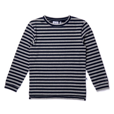 Minti Striped Split Tee