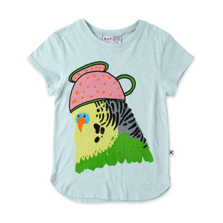 Minti Whimsy Budgie Tee