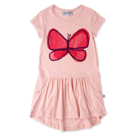 Minti Painted Butterfly Dress