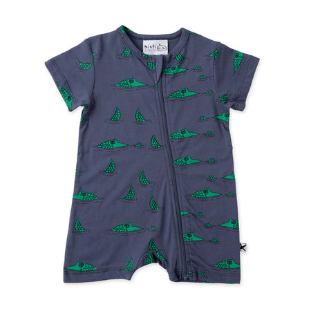 Minti Sneaky Crocs Zippy Suit