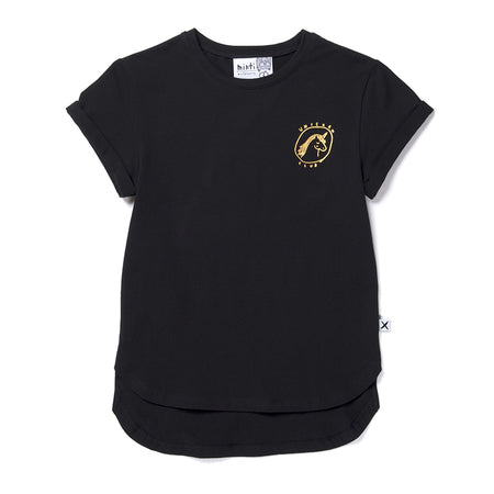 Minti Unicorn Club Tee - Black