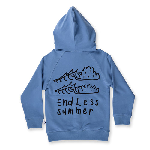 Minti Endless Summer Zip Up - Muted Blue