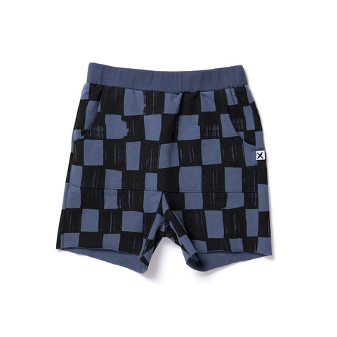 Minti Checkers Short - Midnight