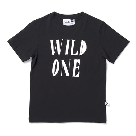 Minti Wild One Tee - Black