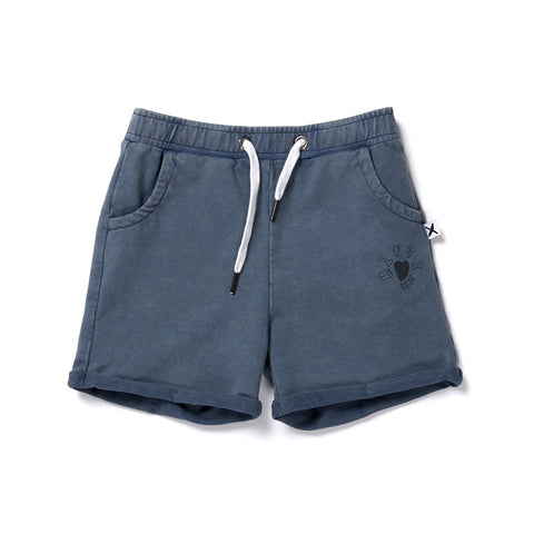 Minti Play Short - Navy Wash