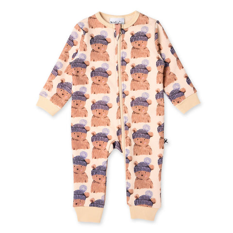 Minti Toasty Teddy Furry Zippy Suit
