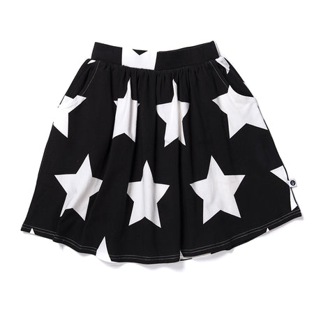 Littlehorn Stars Skirt - Black