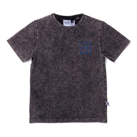 Minti Super M Tee - Black Wash
