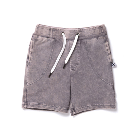 Minti Clash Short - Grey Wash