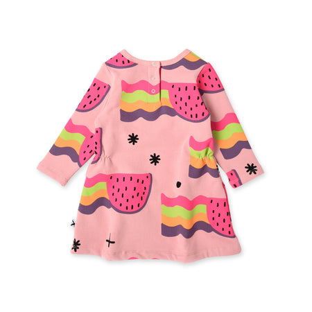 Minti Watermelon Rainbows Furry Dress