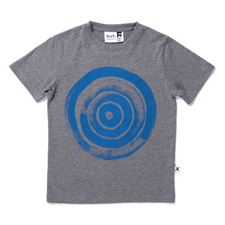 Painted Spheres Tee - Charcoal