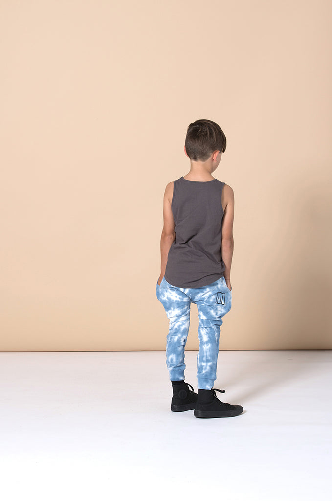 Minti Wild One Singlet - Dark Grey