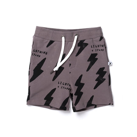 Minti Lightning And Stuff Short - Dark Grey