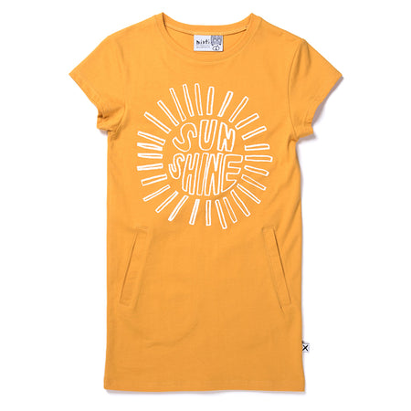 Minti Sunshine Dress - Mustard